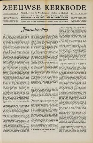 Zeeuwsche kerkbode, weekblad gewijd aan de belangen der gereformeerde kerken/ Zeeuwsch kerkblad 1950-12-29