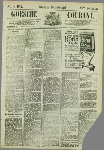 Goessche Courant 1912-02-13