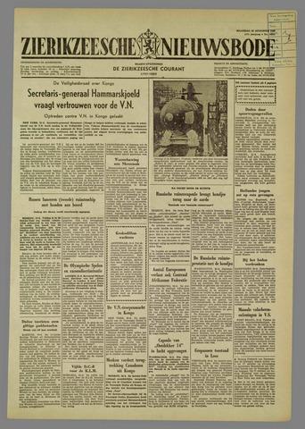 Zierikzeesche Nieuwsbode 1960-08-22