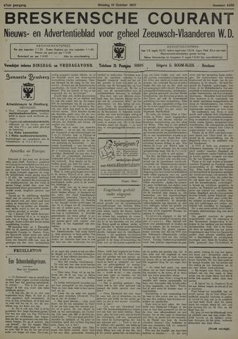 Breskensche Courant 1937-10-19