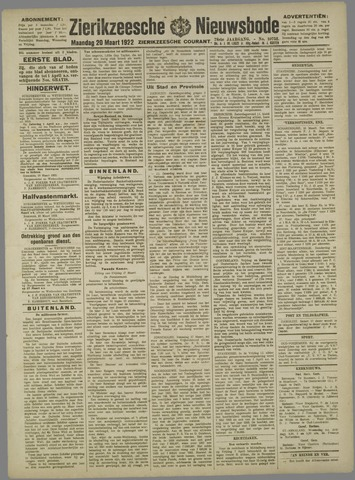 Zierikzeesche Nieuwsbode 1922-03-20