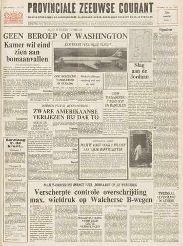 Provinciale Zeeuwse Courant 1967-11-22