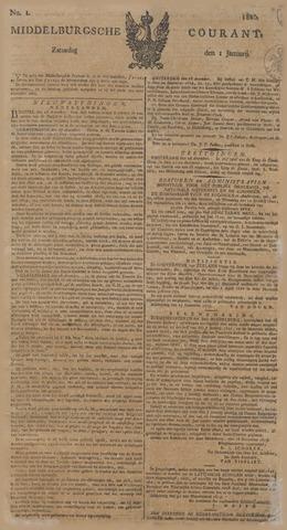 Middelburgsche Courant 1820