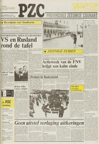 Provinciale Zeeuwse Courant 1984-11-23