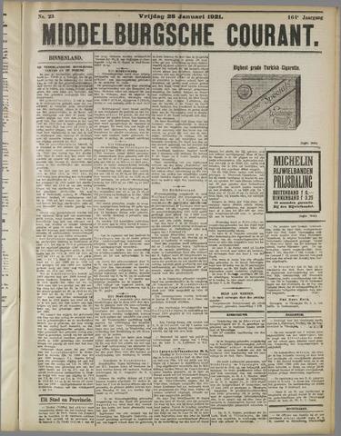 Middelburgsche Courant 1921-01-28