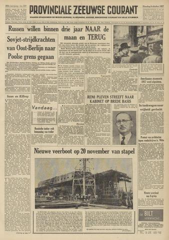 Provinciale Zeeuwse Courant 1957-10-08