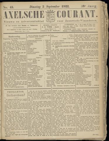 Axelsche Courant 1922-09-05