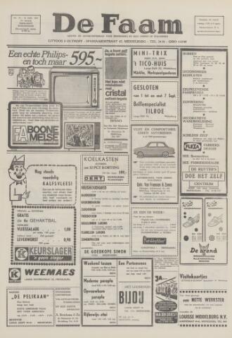 de Faam en de Faam/de Vlissinger 1969-08-28