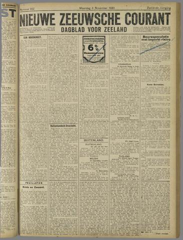 Nieuwe Zeeuwsche Courant 1920-11-08