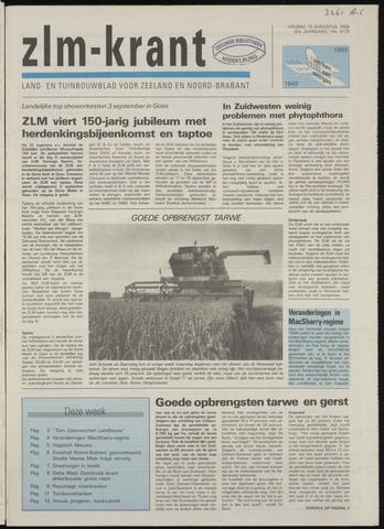 Zeeuwsch landbouwblad ... ZLM land- en tuinbouwblad 1993-08-13