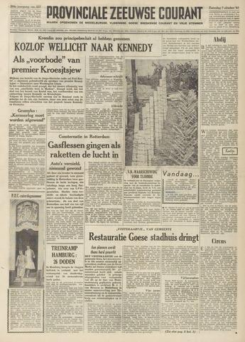 Provinciale Zeeuwse Courant 1961-10-07