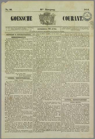 Goessche Courant 1854-06-15