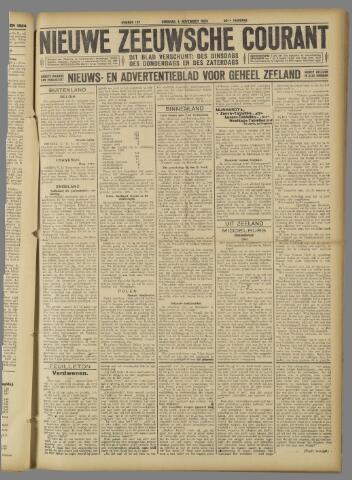 Nieuwe Zeeuwsche Courant 1924-11-04