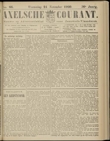 Axelsche Courant 1920-11-24