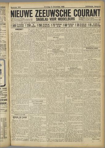 Nieuwe Zeeuwsche Courant 1922-12-12