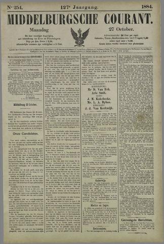 Middelburgsche Courant 1884-10-27