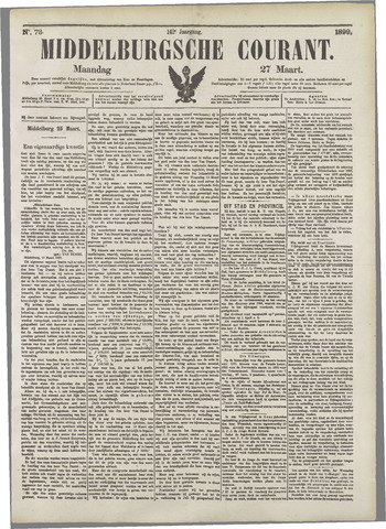Middelburgsche Courant 1899-03-27