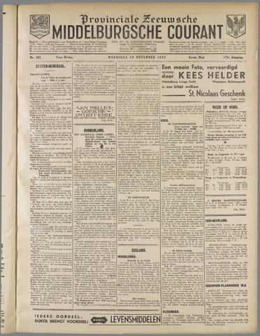 Middelburgsche Courant 1932-11-30