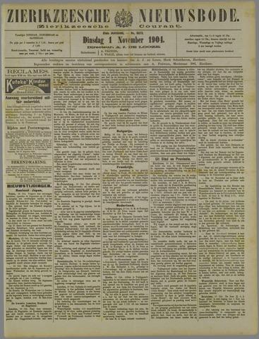 Zierikzeesche Nieuwsbode 1904-11-01