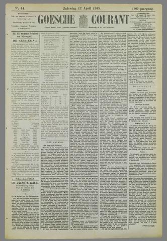 Goessche Courant 1919-04-12