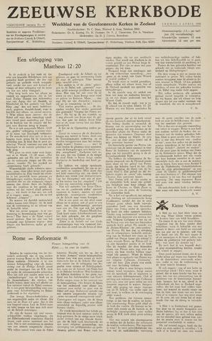 Zeeuwsche kerkbode, weekblad gewijd aan de belangen der gereformeerde kerken/ Zeeuwsch kerkblad 1959-04-03