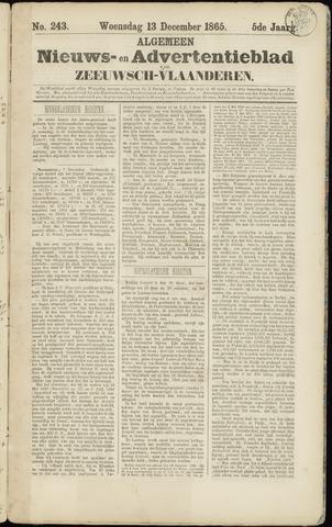 Ter Neuzensche Courant. Algemeen Nieuws- en Advertentieblad voor Zeeuwsch-Vlaanderen / Neuzensche Courant ... (idem) / (Algemeen) nieuws en advertentieblad voor Zeeuwsch-Vlaanderen 1865-12-13