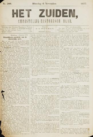 Het Zuiden, Christelijk-historisch blad 1877-11-06