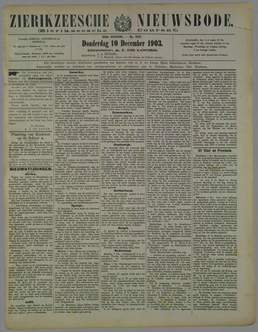 Zierikzeesche Nieuwsbode 1903-12-10