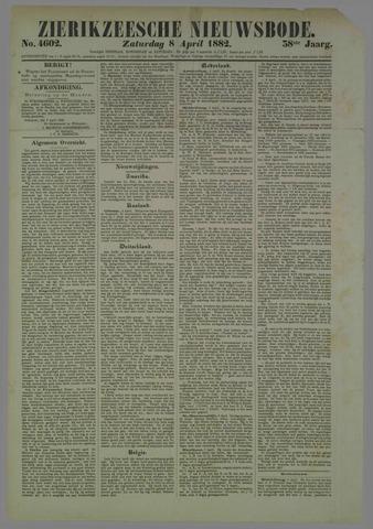 Zierikzeesche Nieuwsbode 1882-04-08