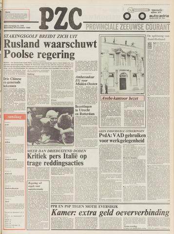 Provinciale Zeeuwse Courant 1980-11-26