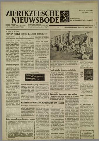 Zierikzeesche Nieuwsbode 1965-01-05