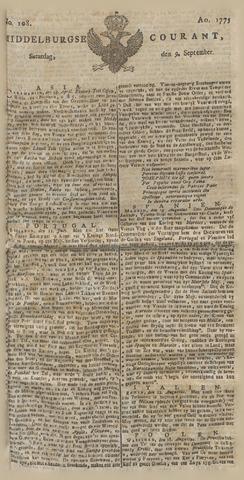 Middelburgsche Courant 1775-09-09