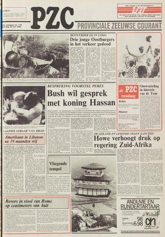 Provinciale Zeeuwse Courant 1986-07-28