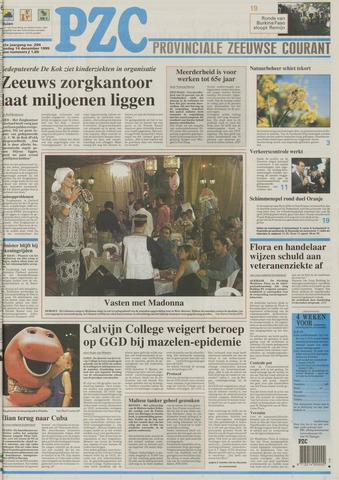 Provinciale Zeeuwse Courant 1999-12-14