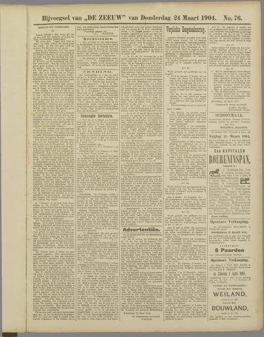 De Zeeuw. Christelijk-historisch nieuwsblad voor Zeeland 1904-03-24