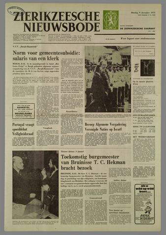 Zierikzeesche Nieuwsbode 1975-12-09
