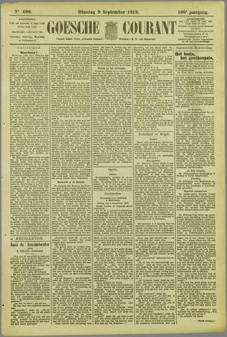 Goessche Courant 1919-09-09