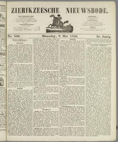 Zierikzeesche Nieuwsbode 1850-05-06