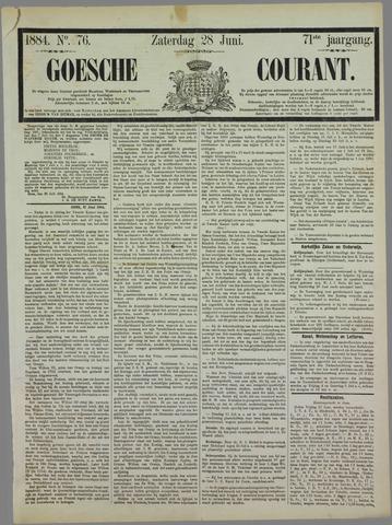 Goessche Courant 1884-06-28