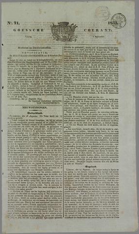 Goessche Courant 1835-09-04