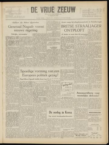 de Vrije Zeeuw 1952-09-08