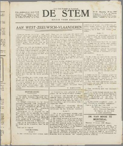 de Stem 1945-01-29
