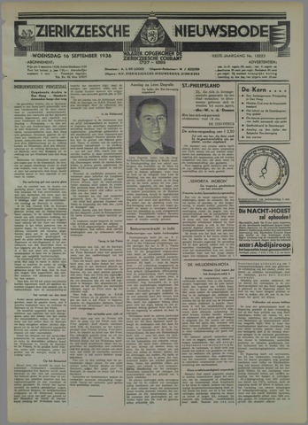 Zierikzeesche Nieuwsbode 1936-09-16