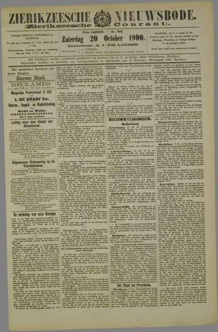 Zierikzeesche Nieuwsbode 1900-10-20