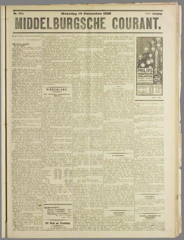Middelburgsche Courant 1925-12-14