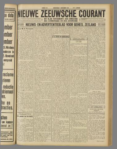 Nieuwe Zeeuwsche Courant 1931-11-05