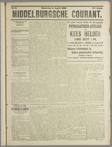Middelburgsche Courant 1925-04-11