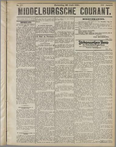 Middelburgsche Courant 1921-07-30