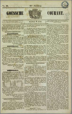 Goessche Courant 1856-06-09