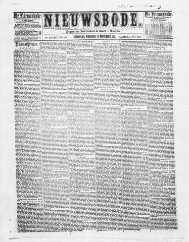 Sheboygan Nieuwsbode 1858-09-28